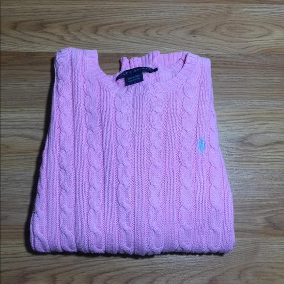 0fac6860611756 Ralph Lauren Sweaters | Polo Womens Cable Crewneck Sweater | Poshmark
